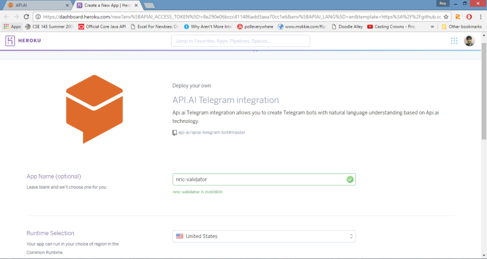 heroku integration
