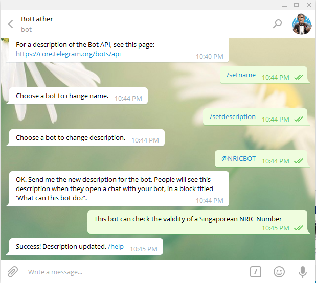 How to build a Chatbot with Telegram and Dialogflow (previously API